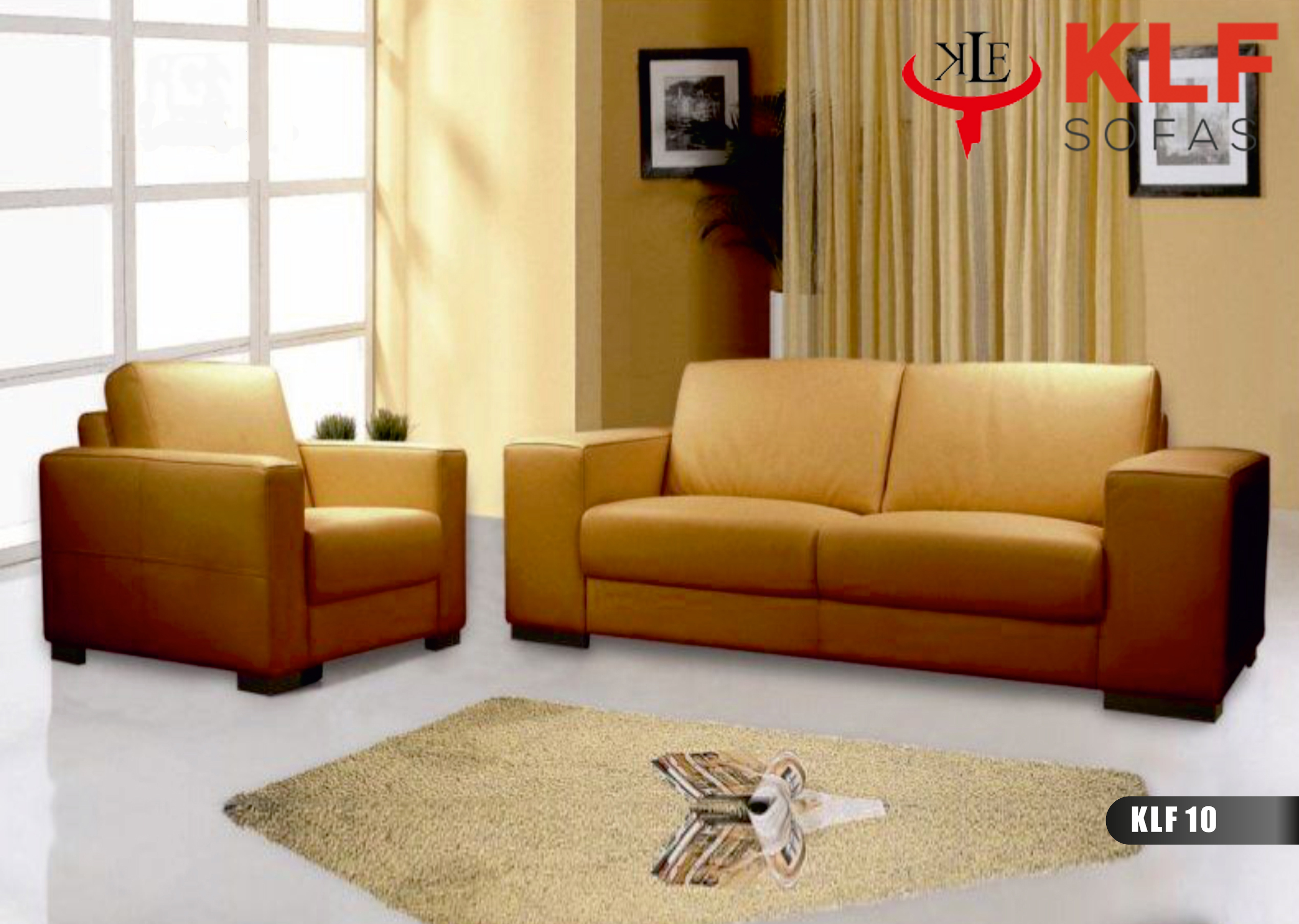 KLF Leather Sofas